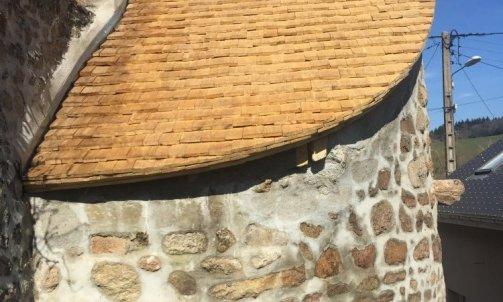 Charpente à Autun