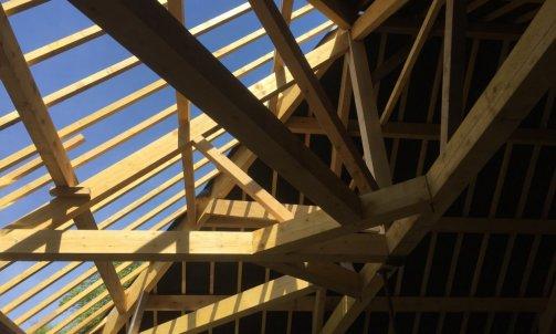 Maison ossature bois à Autun